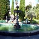 Центральный фонтан «Амуры» в парке Дендрарий. Сочи.