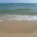 Побережье Средиземного моря в Тунисе.