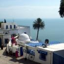 Курортный городок Суди-Бу-Саид. Тунис.