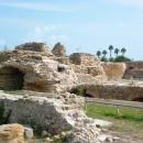 Руины древнего города Карфаген в Тунисе.