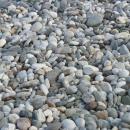Берег Измира - галька. Отдых в Турции.
