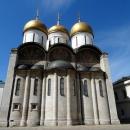 Успенский собор на Соборной площади Кремля. Москва.