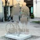 Скульптуры в Варезе. Ломбардия. Италия.