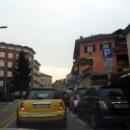 На улицах города Варезе. Ломбардия. Италия.