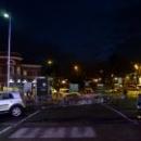 Ночной город Варезе. Италия.