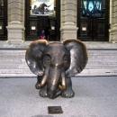 Вход в Музей Естественной Истории в Вене. Австрия.
