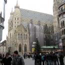 Собор Святого Стефана на площади Штефансплац в Вене. Австрия.