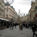 Пешеходная улица-площадь Грабен. Вена. Австрия.