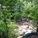 Водопад Учан-Су летом практически пересыхает.