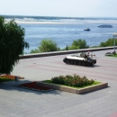 Набережная реки Волга. Волгоград.