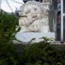 «Спящий лев» на Львиной террасе. Воронцовский дворец.