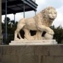 Львиная терраса, скульптуры итальянских мастеров.
