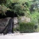Водопады в Воронцовском парке.