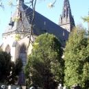 Собор Святых Петра и Павла и мемориальное кладбище в Вышеграде. Прага. Чехия.