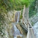 Гебиусские водопады. Геленджик.