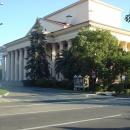 Северный фасад Зимнего театра Сочи.