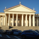 У Зимнего театра Сочи.