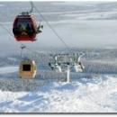 Гондольные подъемники на горнолыжном курорте Юлляс (Yllas) в Финляндии