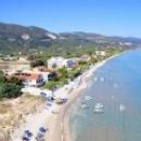 О. Закинф в Греции, пляж Alykes