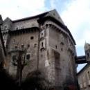 Замок Пернштейн в Чехии Моравия