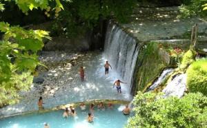 Курорт Лутраки (Аридея) в Греции Халкидики