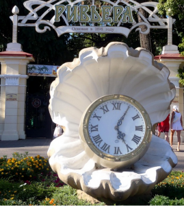 Часы Парк «Ривьера»
