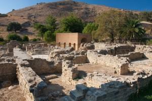 Город Гортина (Гортис) остров Крит