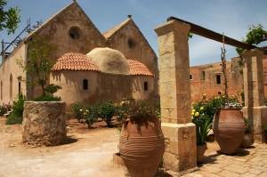 Монастырь Аркадия на острове Крит