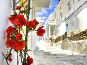 Остров Миконос Эгейское море, Греция.