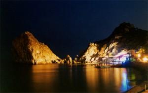 Ночной Симеиз гора Дива