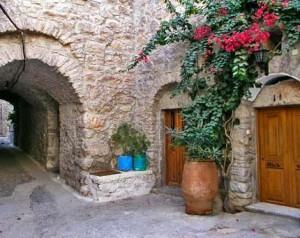 Остров Хиос в Греции.