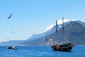 Прогулка на Яхте в Анапе