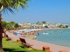 Курорт Дидим на Эгейском море в Турции.