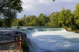 Водопады в Турции, курорт Анталья.