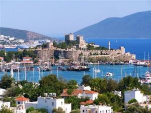 Курорт Бодрум, Турция, Эгейское море