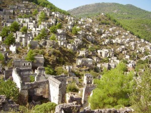 Курорт Фетхие, греческий поселок Каякёй