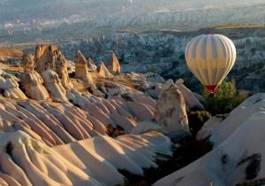 Каппадокия на воздушном шаре