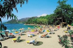 Пляжи курорта Мармарис в Турции