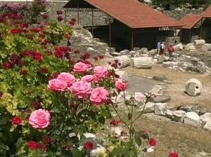 Руины мавзолея в Галикарнасе
