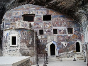 Монастырь Сумела недалеко от г. Трабзон