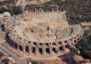 Театр Аспендос
