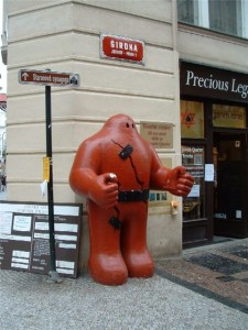 Голем Прага