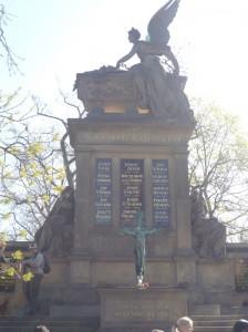 Кладбище в Вышеграде Прага