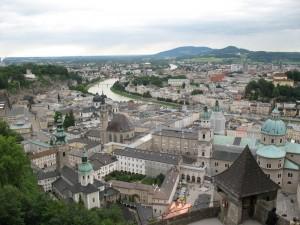 Город Зальцбург Австрия