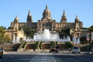 Национальный дворец, Площадь Испании