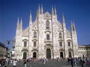 Город Милан в Италии.