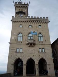 Государство Сан-Марино в Италии.