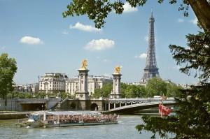 Река Сена Париж