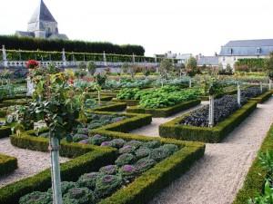 «Декоративный огород» Вилландри