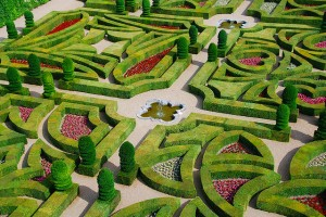 «Сад Любви» замка Вилландри